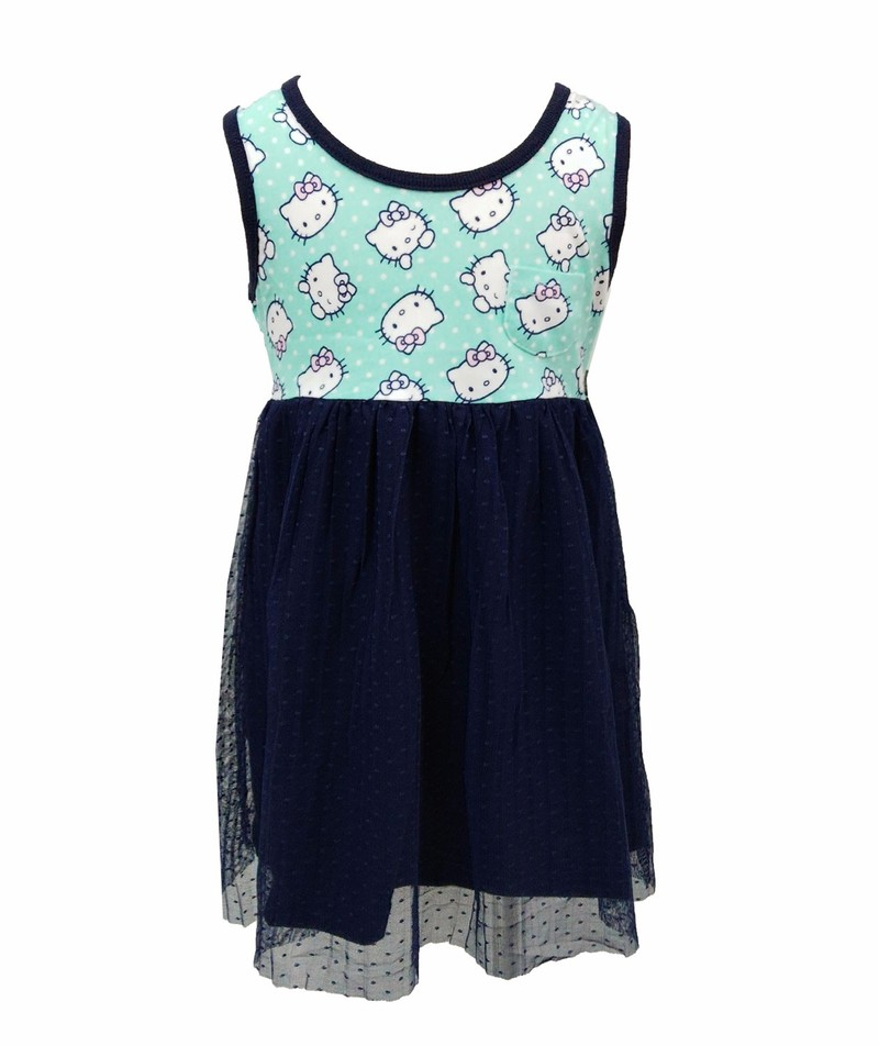 Bộ 2 váy ren trẻ em kitty - lybishop 2