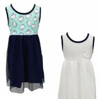 Bộ 2 váy ren trẻ em kitty - lybishop