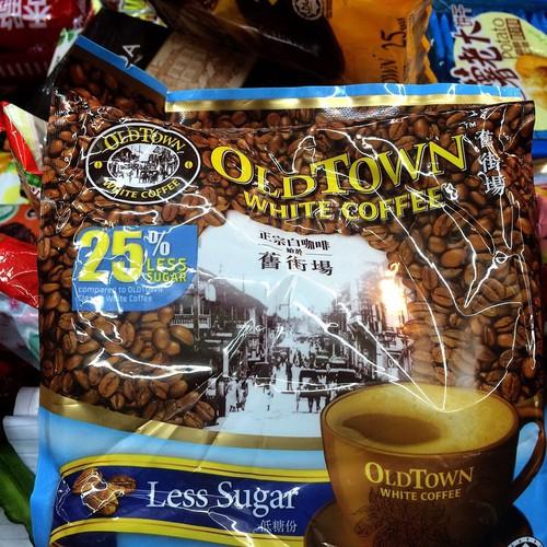 Cà phê cổ điển ít đường old town white coffee malaysia