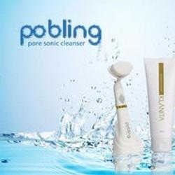 Máy massage và làm sạch da mặt Pobling