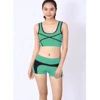 Bộ quần áo tâp thể dục thẩm mỹ TM022