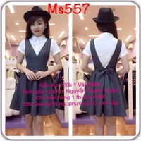 MK557-Yếm Poli Kèm Áo Cotton