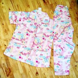 đồ bộ pijama hình gấu mã DB41