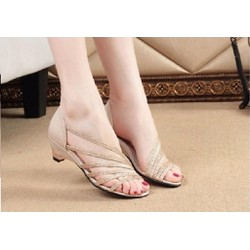 Giày nữ ánh kim