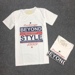 Áo thun nam in chữ Beyond Style
