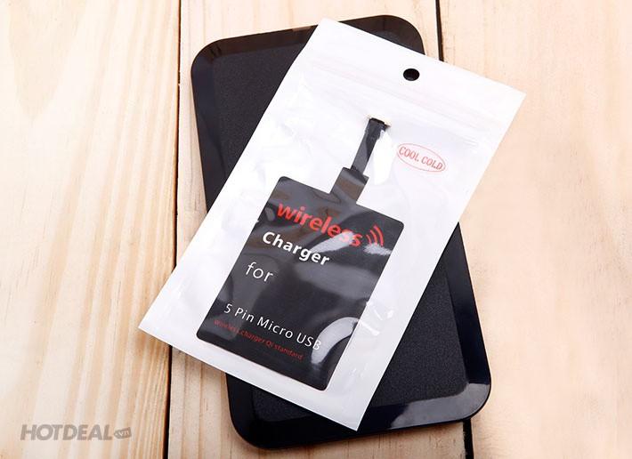 Bộ thẻ đế sạc không dây CoolCold MC-02A cho điện thoại  HĐH Android 1