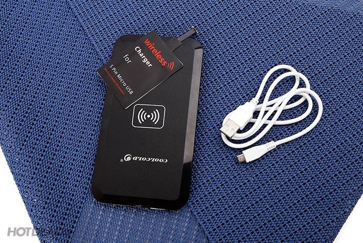 Bộ thẻ đế sạc không dây CoolCold MC-02A cho điện thoại  HĐH Android 6