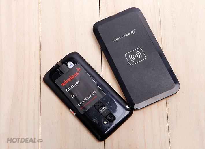 Bộ thẻ đế sạc không dây CoolCold MC-02A cho điện thoại  HĐH Android 4