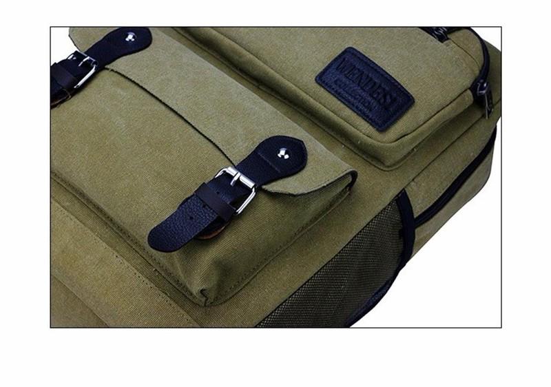 BLS0060 - Balo vải hình hộp thời trang PRAZA 5