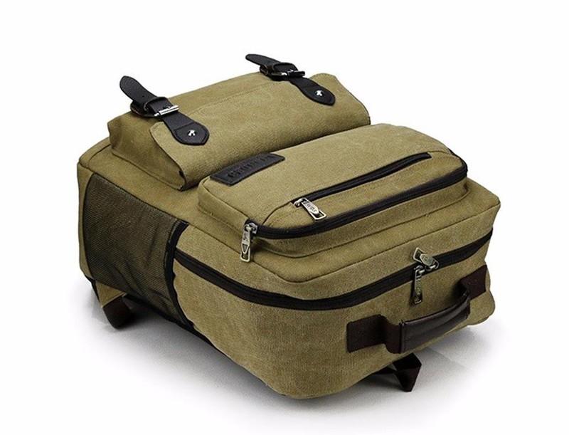 BLS0060 - Balo vải hình hộp thời trang PRAZA 3