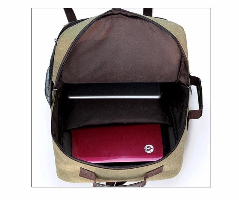 BLS0060 - Balo vải hình hộp thời trang PRAZA 4
