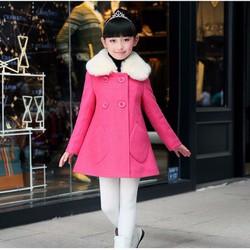 áo khoác nỉ bé gái-an231