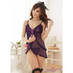 Đầm Ngủ Sexy - Xanh Gợi Cảm