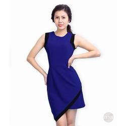 Đầm ôm thiết kế phối màu sang trọng 156379