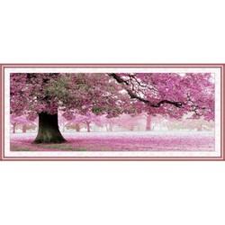 Tranh thêu cây tình yêu