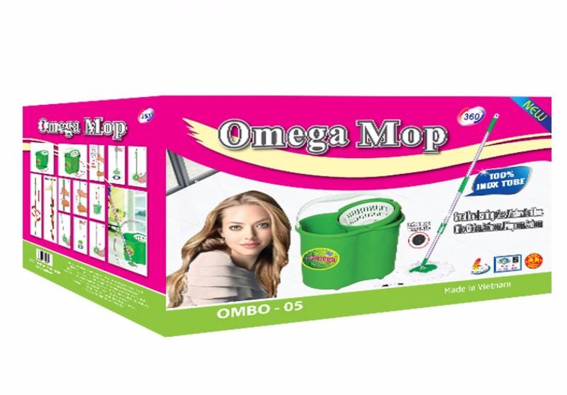 Bộ lau nhà 360 độ omega mop 05 4