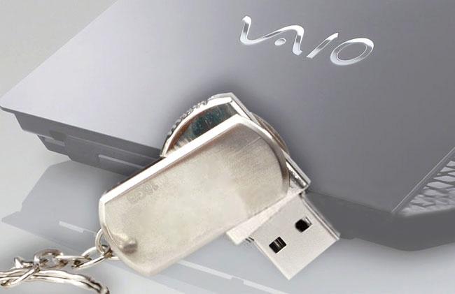 USB Sony Vaio Xoay 4G Và 8G 10