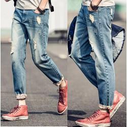 AK81009 Quần jeans thể hiện phong cách