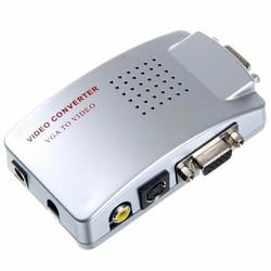 Bộ chuyển đổi VGA sang Video - VGA TO SVIDEO-AV