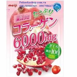 Kẹo Collagen Meiji Nhật Bản
