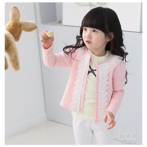 Áo khoác ren thời trang cho bé ak01044