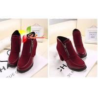 giày bốt nữ cao gót giá rẻ