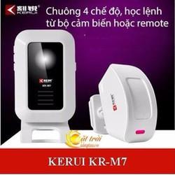 Chuông báo khách học lệnh thông minh KERUI KR-M7