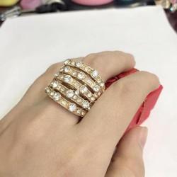 Nhẫn nữ mới về bản to đính đá sang trọng