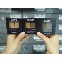 BỘT KẺ MÀY CITY COLOR COLLECTION BROW DUO MÀU MEDIUM