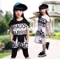 Bộ quần áo cho bé gái chất cotton cao cấp 9671