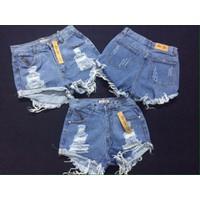 Short Jeans Katun cá tính