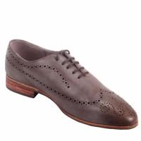 Giày da handmade Longwing Brogue