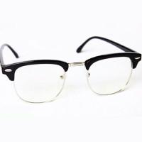 Mắt kính giả cận Ryan thời trang - tặng bao da