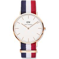 Đồng hồ DW mặt vàng