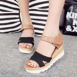 HÀNG NHẬP CAO CẤP - Giày sandal phối màu