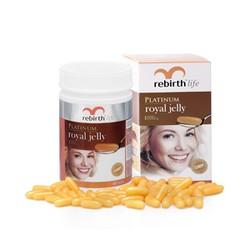 Viên uống sữa ong chúa Rebirth Royal Jelly 1000mg H60v
