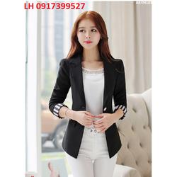 áo vest nữ áo vest công sở 2 lớp thời trang Hàn QUốc mới R16AKVN103
