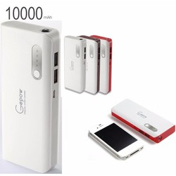 Pin sạc dự phòng Gepow 10000 mah-Sạc trên 5 lần iPhone - Chính hãng
