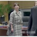 Đầm sơ mi caro Song Hye Kyo Hậu Duệ Mặt Trời