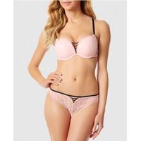 Áo ngực Nhập khẩu Lasenza hồng Beyond Sexy Push-up A044