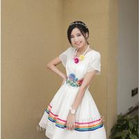 Đầm thêu đặc sắc
