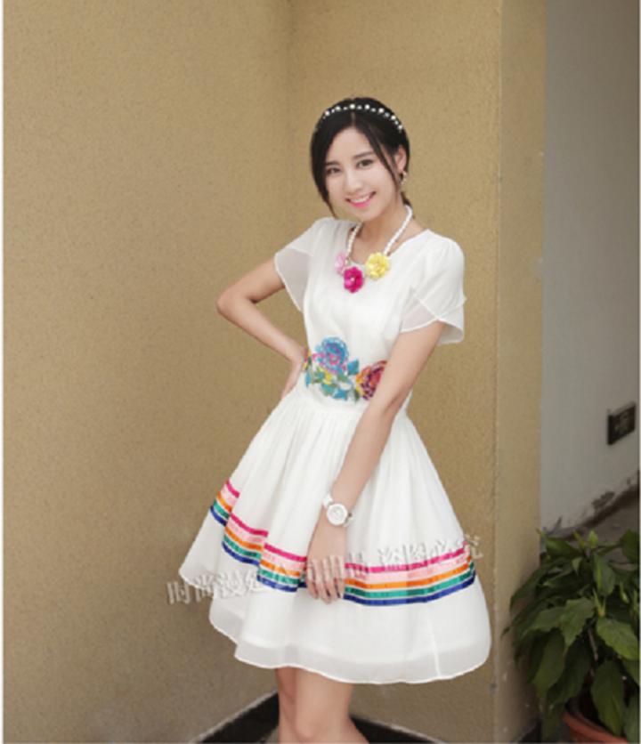 Đầm thêu đặc sắc 3