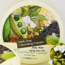 KEM TẨY TRANG HERB DAY CLEANSING CREAM THE FACESHOP