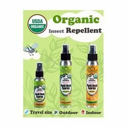 US Organic - đuổi muỗi và côn trùng, an toàn cho trẻ em