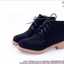 Giày boot nữ thu đông mẫu mới tự tin sành điệu GUBB161