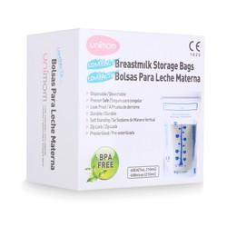 Hộp 60 Túi đựng sữa mẹ Unimom Compact Không có BPA 210 ml Hàn Quốc