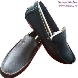 Giày da thật nam thiết kế đơn giản sang trọng GDNHK152