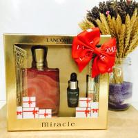 Bộ sản phẩm nước hoa Miracle tặng kèm serum và son môi