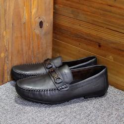 Giày mọi nam Geox khóa ngang