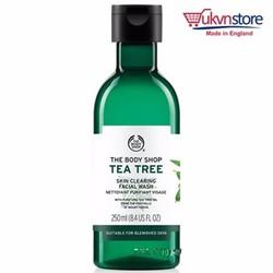 Sữa rửa mặt trị mụn cho da nhờn TEA TREE FACIAL WASH 250ml